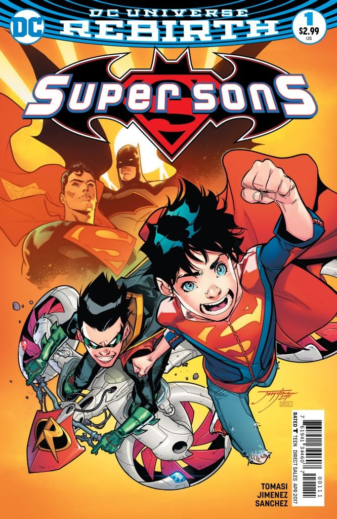 Supersons 1 Cover