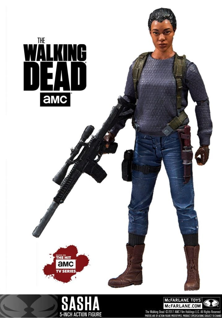 Walking-Dead-5-Inch-Sasha-Figure
