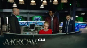 arrow lance curtis ollie and felicity hacking in the cave
