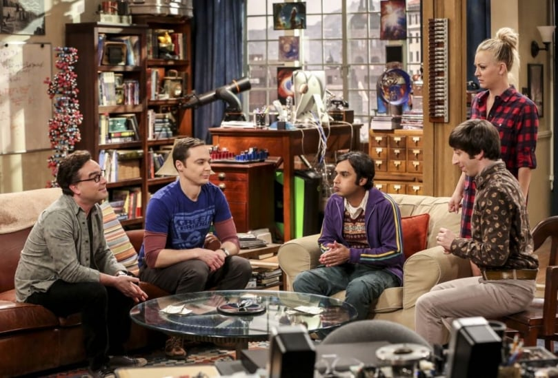 bbt gang watches as raj holds his breath