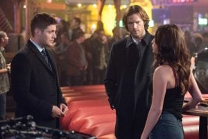 Sam and Dean trying to backtrack the latter's movements prior to the memory wipe.