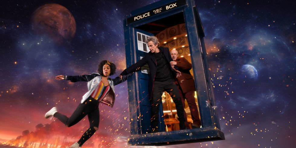 Doctor Who Series 10 Banner