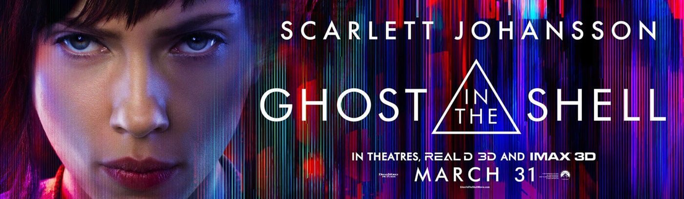 Ghost in the Shell face banner