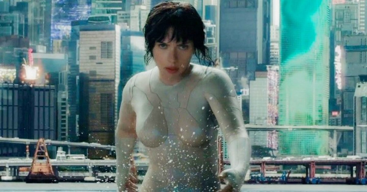 Ghost in the Shell water fight