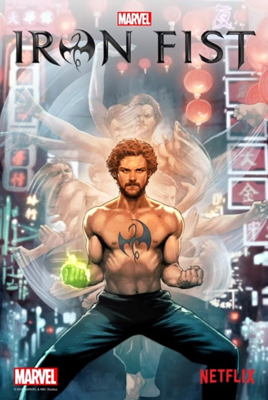 Iron Fist animated poster