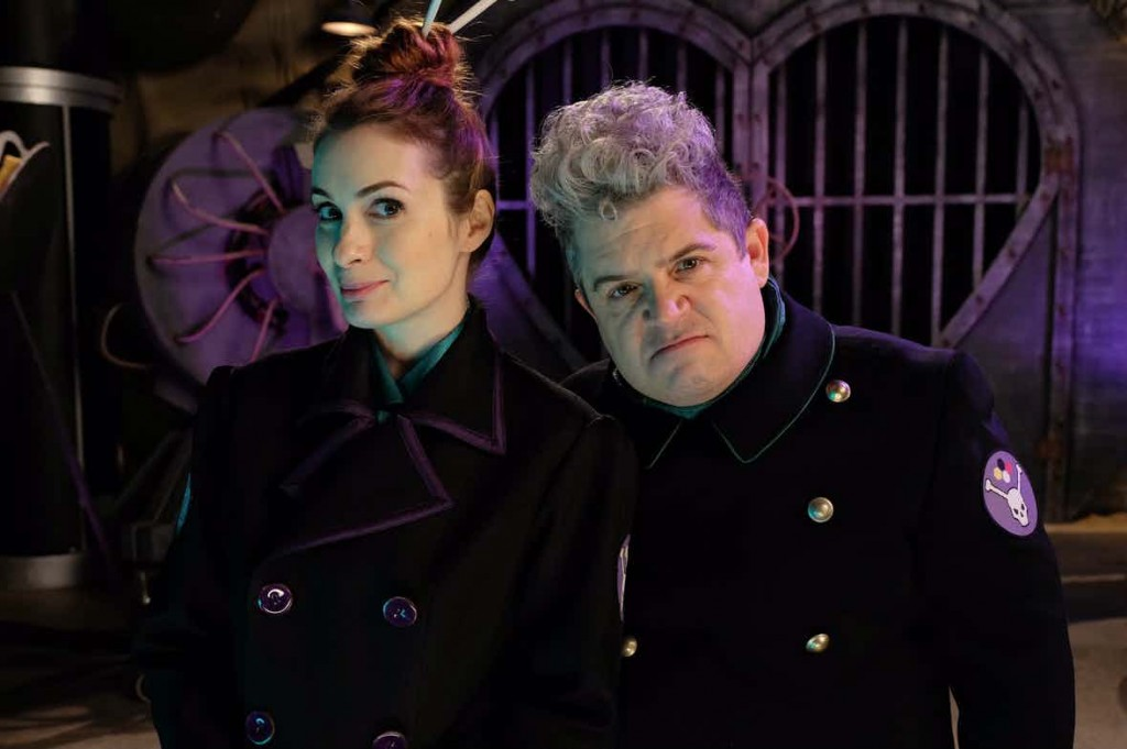 Mystery-Science-Theater-3000-Felicia-Day-and-Patton-Oswalt