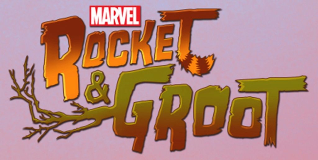 Rocket And Groot Title
