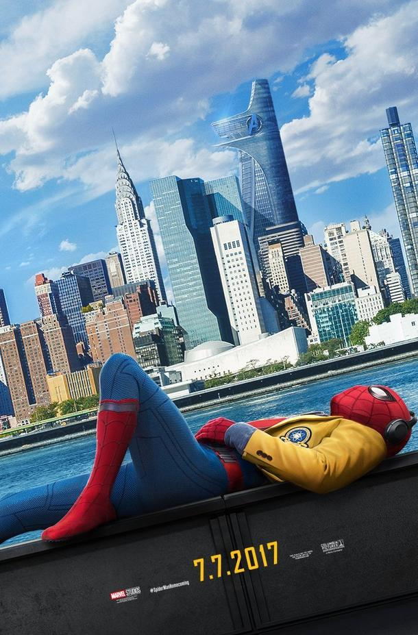 Spiderman Homecoming lay down poster