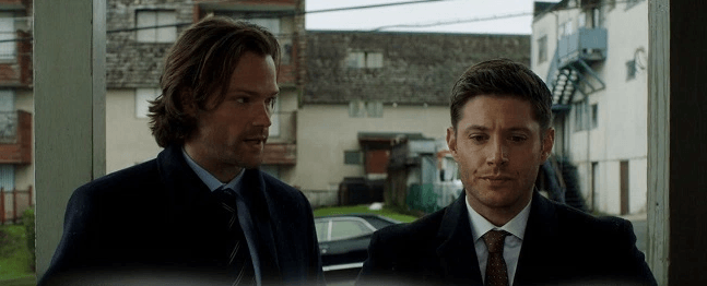 Supernatural somewhere between heaven and hell