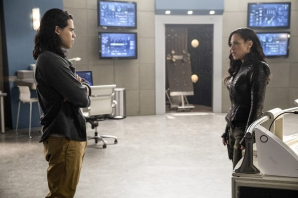 Gypsy's confrontation with the team leaves her and Cisco in a viber's limbo.