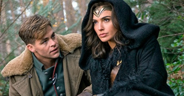 Patty Jenkins Chris Pine Wonder Woman 1984
