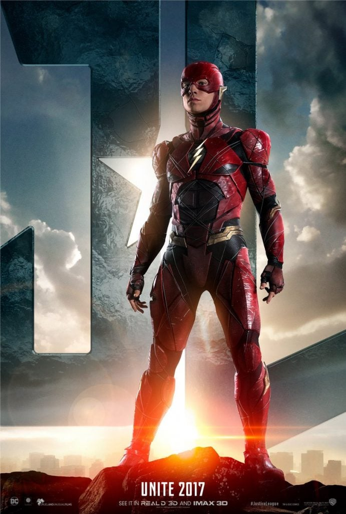justice-league-flash-poster