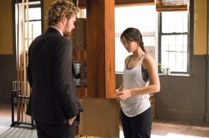 iron fist danny and colleen in dojo