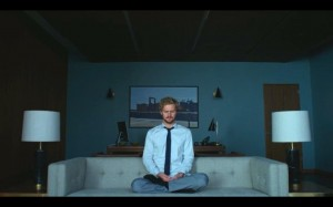 iron fist danny meditating in office