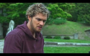 iron fist danny rand in the park
