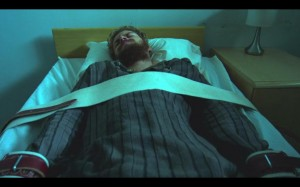 iron fist danny strapped down in mental hospital