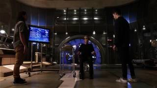 Poor Julian is convinced (twice, no less) to become to mouth of Savitar...