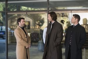 Sam and Dean could get used to the fine hospitality of 3-Star Hotel living.