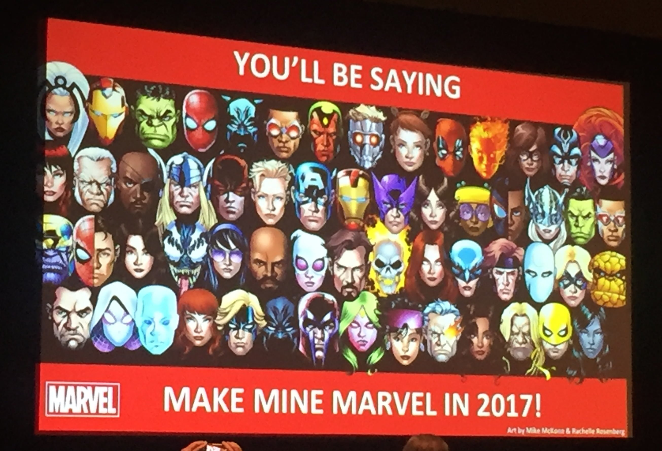 Make Mine Marvel slide