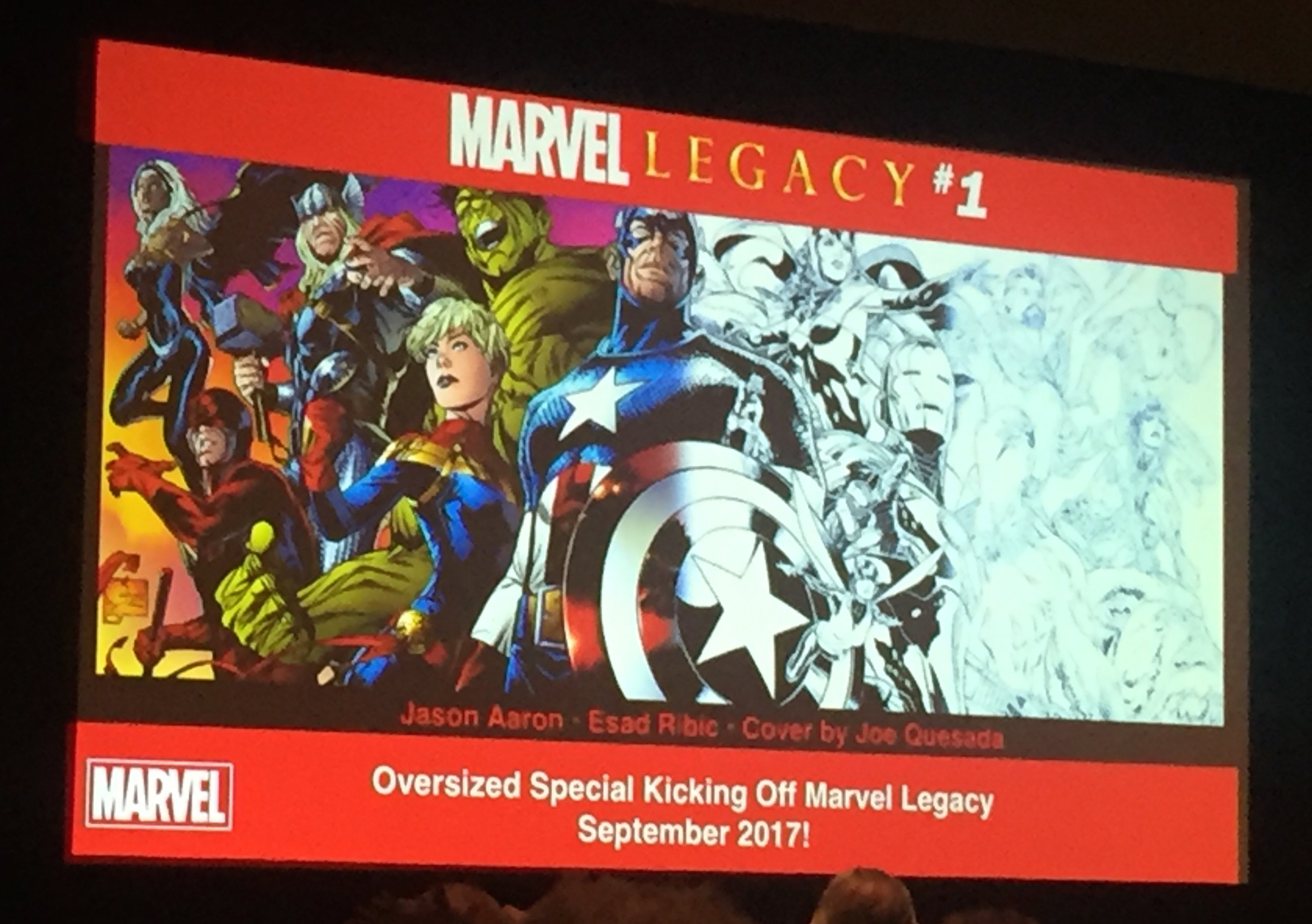 Marvel Legacy slide