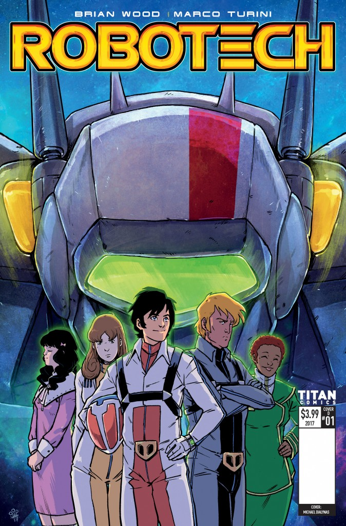 Robotech Issue 1 Cover D Mike Dialynas