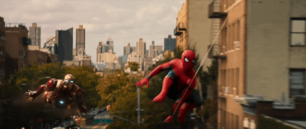 Spider-Man Iron Man Homecoming