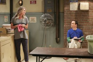 bbt penny and sheldon in the laundry room