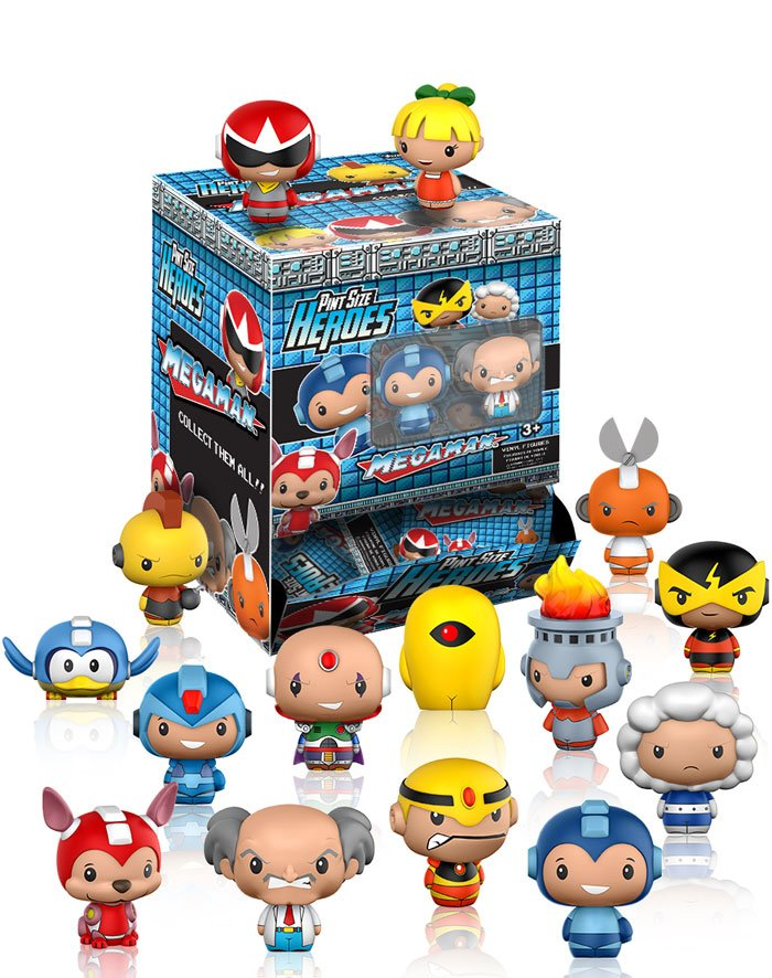 funko megaman pint sized heroes
