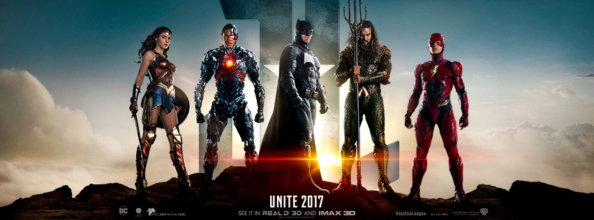 justice league wide poster