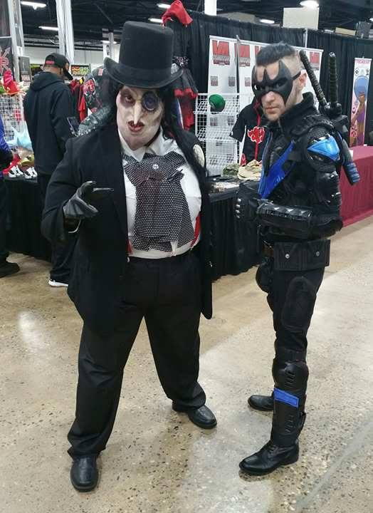 penguin and nightwing