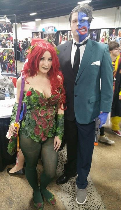 poison ivy two face