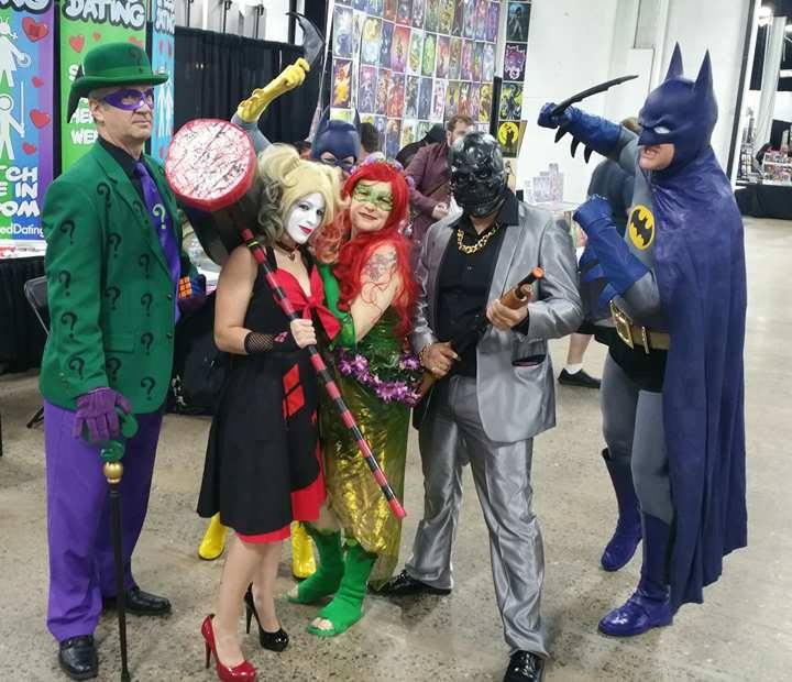 riddler harley ivy black mask batgirl batman