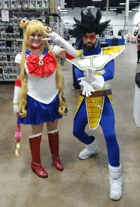 sailor moon vegeta
