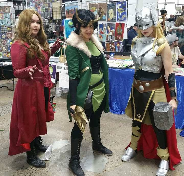 scarlet witch loki and thor
