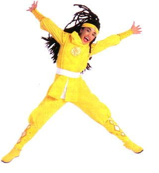yellow ranger ninja