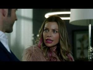 Chloe trying to work through her issues with Lucifer abandoning her.