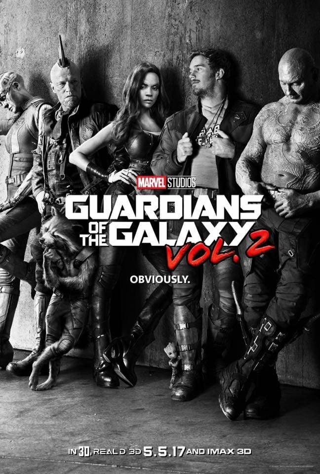 Guardians of the Galaxy Vol 2 Obviously poater