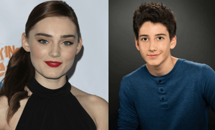 Meg Donnelly Milo Manheim