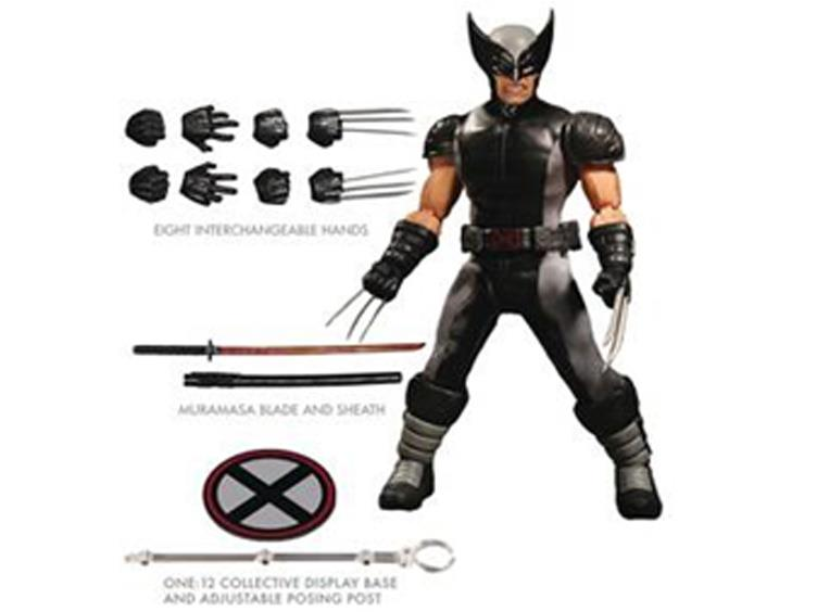 Mezco-PX-One12-Collective-Wolverine