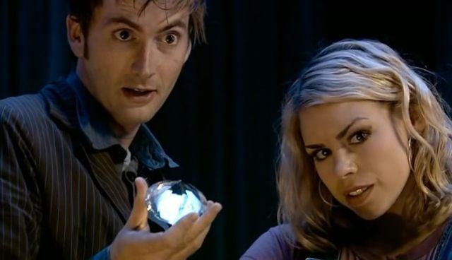 Tenth Doctor and Rose Doctor Who David Tennant Billie Piper