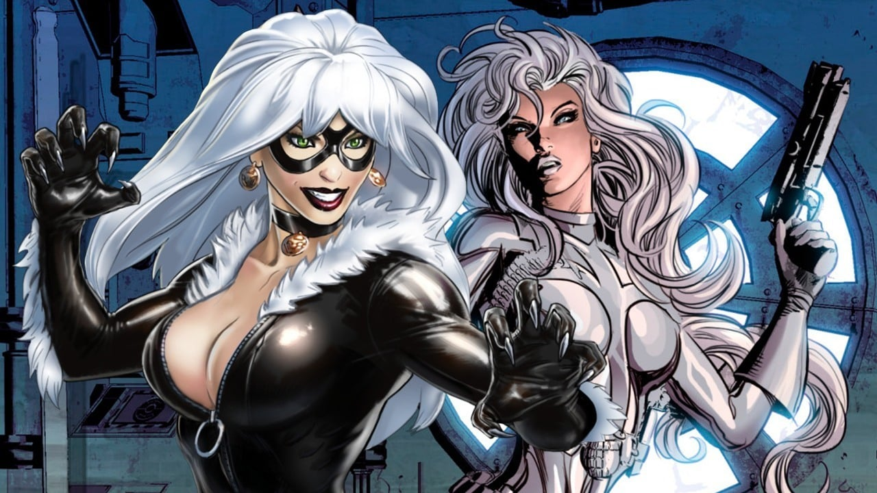 silver sable black cat silver and black