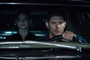 Sam, Dean, and Toni Bevell post-Bunker.