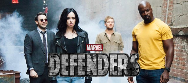 the defenders title plus characters