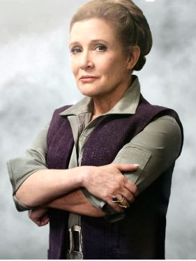Carrie Fisher General Leia Star Wars