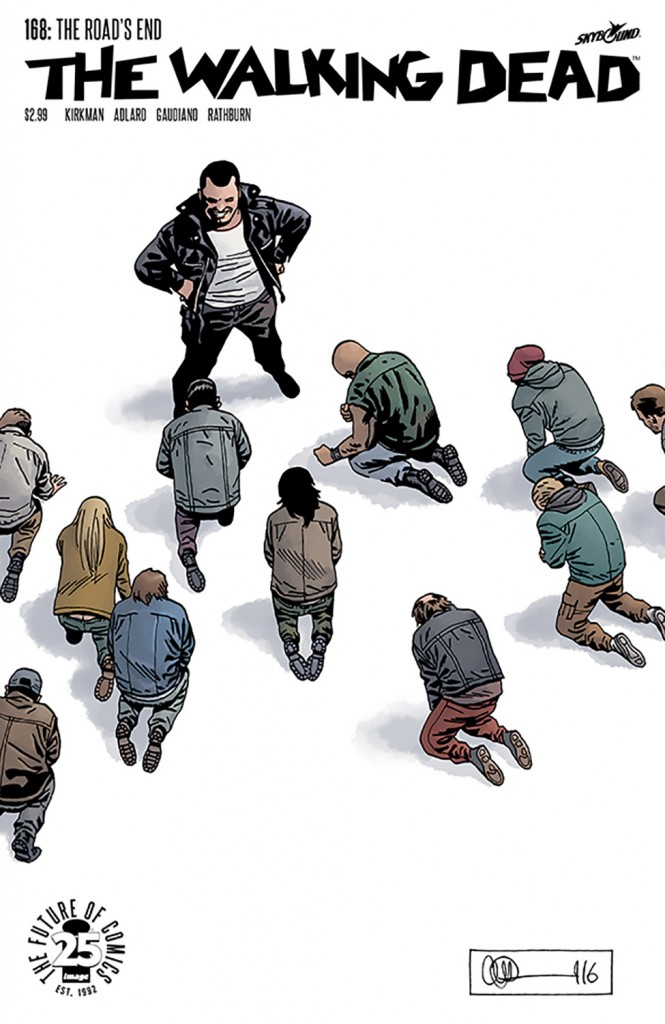 The Walking Dead 168 Cover