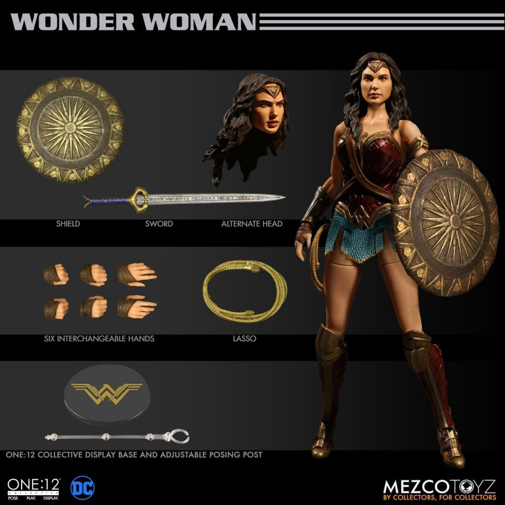 WonderWoman-One12-Mezco 2