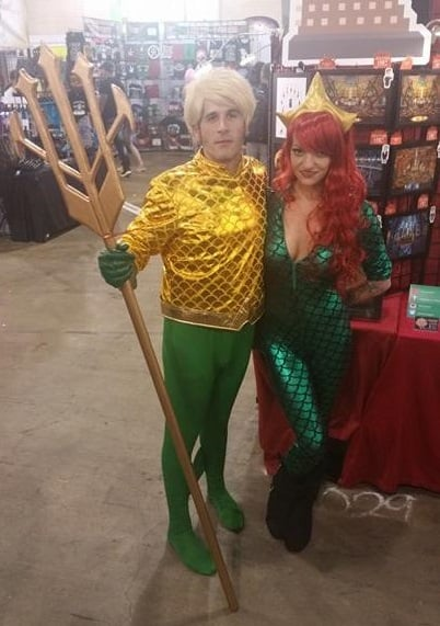 aquaman and mera
