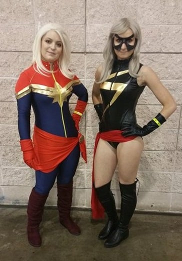 captain and Ms marvel