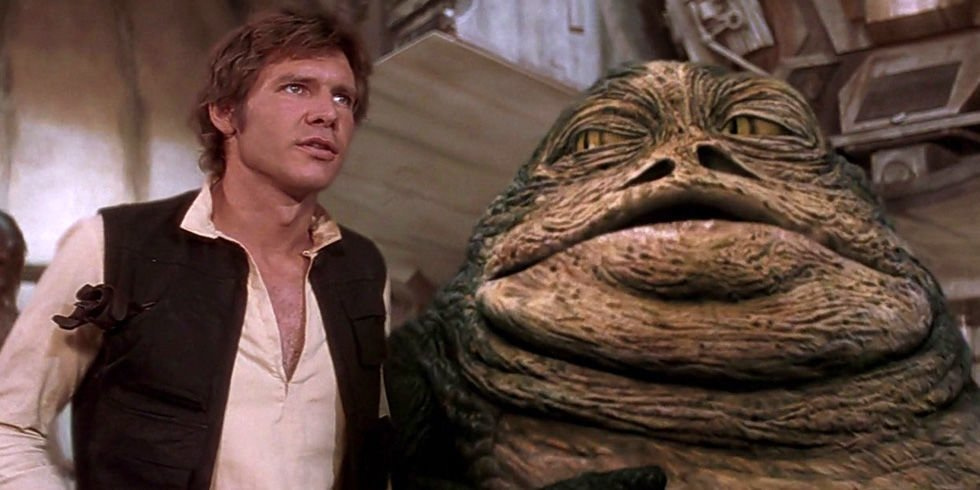 Han Solo Jabba the Hut