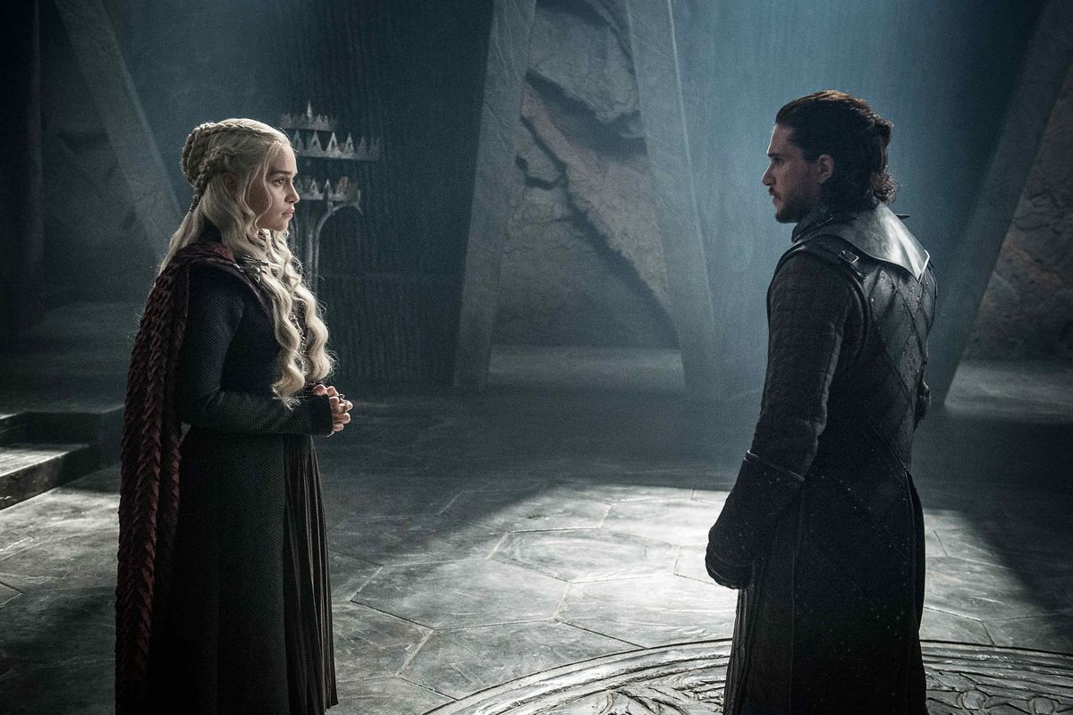 Game Of Thrones  ice meeting fire